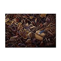 秋の色by Wilhelm Goebel , 16x 24インチ