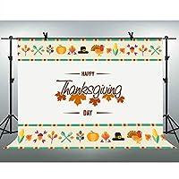FLASIY 感謝祭 背景 10x7フィート パーティー装飾 写真背景 子供のイベント 写真 ビデオ スタジオ小道具 GEAY048