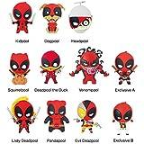 Marvel(マーベル) Deadpool(デッドプール) 3Dフィギュラル?キーリング(コレクターキーリング) Series 3 ブラインド仕様 1パック単品販売 [並行輸入品]