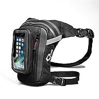 Shiwaki レッグバッグ 大腿袋 ポケット タッチスクリーン 電話袋付き オートバイ 自転車 レーシング用品