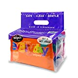 Zappy Everyday 15s Wipes Value Pack, 15 ct, (Pack of 6)