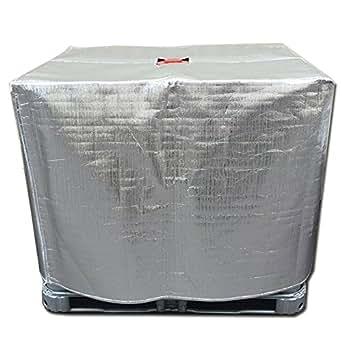 運送お助け隊 凍結防止(遮熱) IBCコンテナカバー 尿素水保管用 保冷用品 保温用品