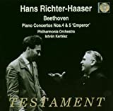 Piano Concertos Nos 4 And 5 'emperor' (Richter-Haaser, Po) by Philharmonia Orchestra (2003-09-01)