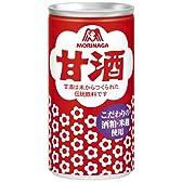 森永製菓 甘酒  190g缶×30本
