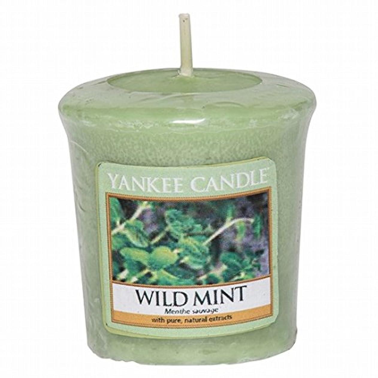 ホイッスル戻す疾患YANKEE CANDLE(ヤンキーキャンドル) YANKEE CANDLE サンプラー 「ワイルドミント」6個セット(K00105290)