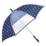 雨の日彩るKidsジャンプ傘(55cm) 大海原の海遊シャーク N7401410
