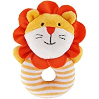 amyove Rattle Rattleソフトコットンリングベルおもちゃかわいい動物形状for Kids Infant Newborns LX125800442B01021