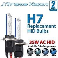 XtremeVision AC Hidキセノン交換用電球 H7 H7-10K-AC-BULB-XT
