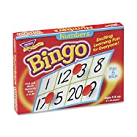 Wholesale CASE of 20 - Trend Numbers Bingo Learning Game-Numbers Bingo, For Ages 4 And Up