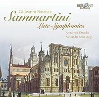 Sammartini: Late Symphonies (2012-05-29)