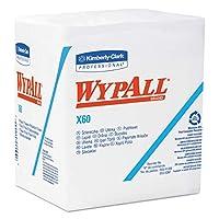 キンバリークラークKCC 34865 Wypall X60 1/4イングFldジャンボのR1 WPR白76分の12