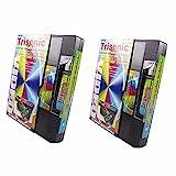 2ヘッドクリーニングテープカセットのビデオVHS VCRプレーヤーレコーダーWet Dry Cleaner