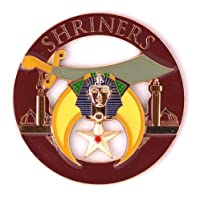 Masonic Exchange Shriner Shrine Autoエンブレム 車 デカール