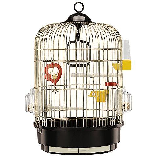 ファープラスト 鳥かご レジーナ ゴールド 小型鳥用