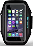 iPod Touch Armband: Stalion Sports Running & Exercise Gym Sportband (Jet Black) Water Resistant + Sweat Proof (for Apple iPod Touch 5th & 6th Gen) [並行輸入品]