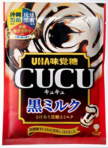 味覚糖 CUCU 黒ミルク 85g×6袋