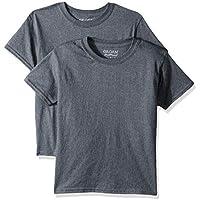 Gildan Unisex-Child Boys G8000B DryBlend Youth T-Shirt, 2-Pack Short Sleeve T-Shirt