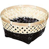 Fenteer 手作り 竹繊維 織り 収納用 バスケット 便利グッズ 実用的 全3サイズ  - #3