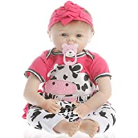 NPK Collection Reborn Baby Doll realistic baby dolls Vinyl Silicone Babies 22inch 55cm Newborn real baby doll Life Like