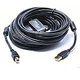 Enhong USB 2.0 アクティブ ロングケーブル (Aオス・Bオス) 10M 15M 20M(10m)