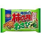 亀田製菓 亀田の柿の種わさび6袋詰 182g