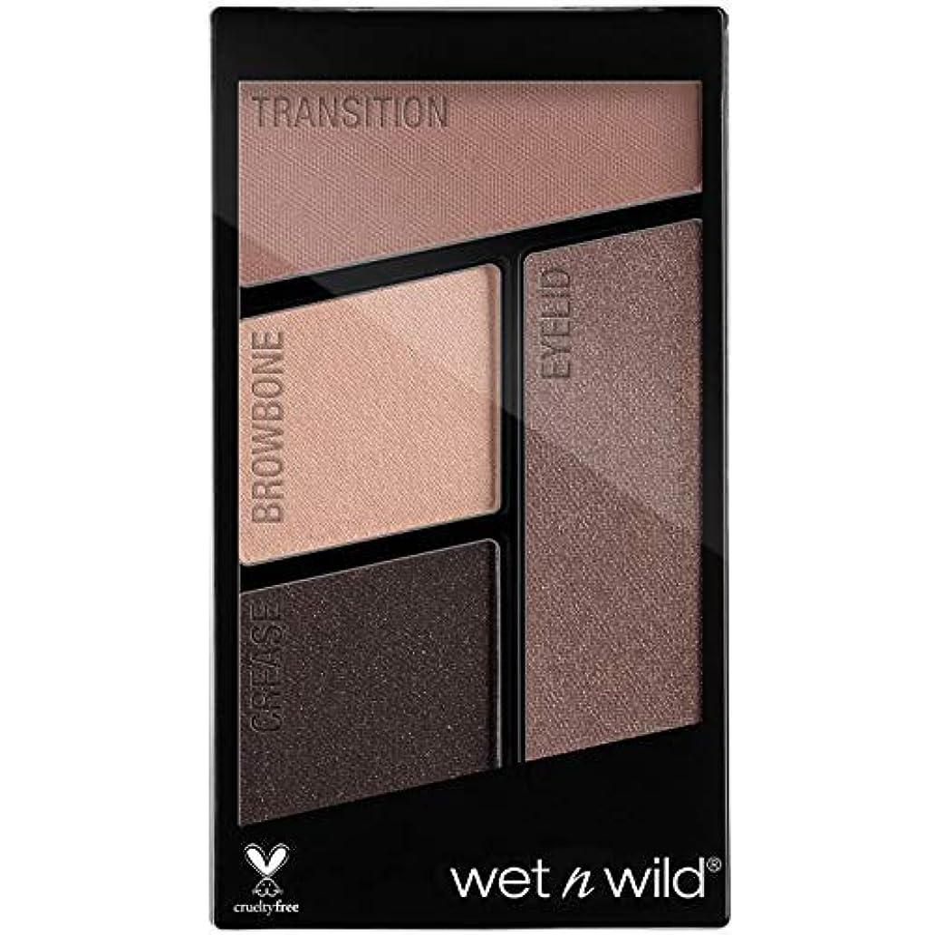 これら中庭トロイの木馬WET N WILD Color Icon Eyeshadow Quad - Silent Treatment (並行輸入品)