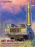 モデルコレクト 1/72 ソビエト連邦軍 9P117M1ランチャー w/R17ロケット 9K72 「エルブルス」 スカッドB プラモデル MODUA72138