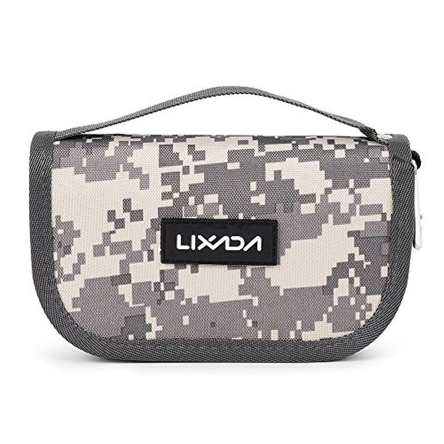 名前で愛人ケーブルLixada 釣りタックルバッグ ルアーバッグ 防水性 大容量 スプーンバッグ