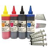 ブラザー (BROTHER)(プリビオ全機種対応) 詰め替え互換インク4色セット(各250ml) (純正の約20~35倍) トリプル保証 ベルカラー