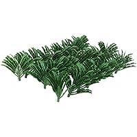 【ノーブランド品】樹木 ヤシの木 モデルツリー  鉄道模型 ジオラマ 箱庭 鉄道風景 1/70 50本