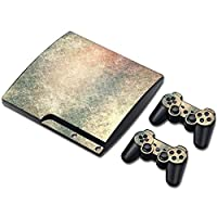 Zhhlinyuan 安定した品質 Skin Sticker Vinyl ステッカー Cover for PS3 PlayStation 3 Slim+2 Controllers