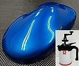PG80 キャンディーカラー ブルー 1L /自動車 ウレタン 塗料 2液 キャンディブルー