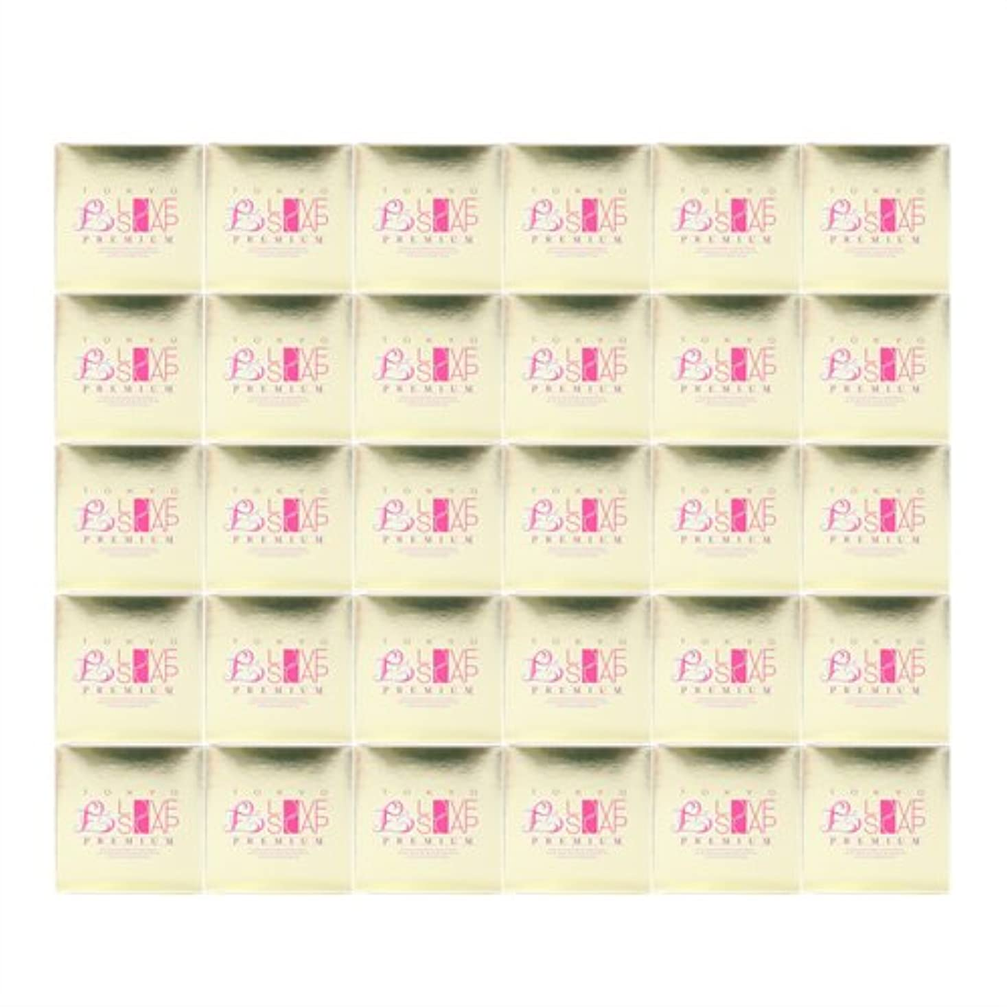 捕虜師匠気性東京ラブソープ プレミアム (100g) x30個 セット