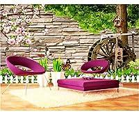 Weaeo モダン3D壁紙リビングルームウォールツリー景色子供の壁紙ホームインテリア防水壁紙バスルーム高品質-400X280Cm