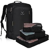 Hynes Eagle Men Backpack 38L Flight Approved Weekender Carry on Backpack Travel Backpack for Women