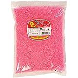 色付きザラメ 『色いろザラメ』 1袋×1kg入 (赤)