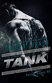 TANK (Savage Saints MC Book 2) by [Jenner, Carmen]
