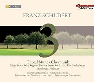 シューベルト:合唱作品集 (SCHUBERT:Choral Music・Chormusik)