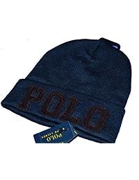 Polo Ralphlauren メンズ ポロ ラルフローレン 「POLO」 ニットキャップ