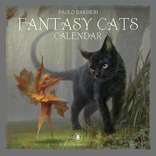 Fantasy Cats 2019 Calendar