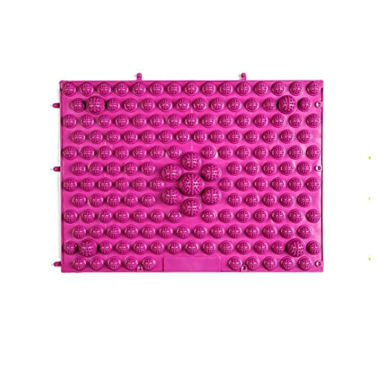 高層ビルトーンリットルウォークマット 裏板セット(ABS樹脂製補強板付き) (レッド)
