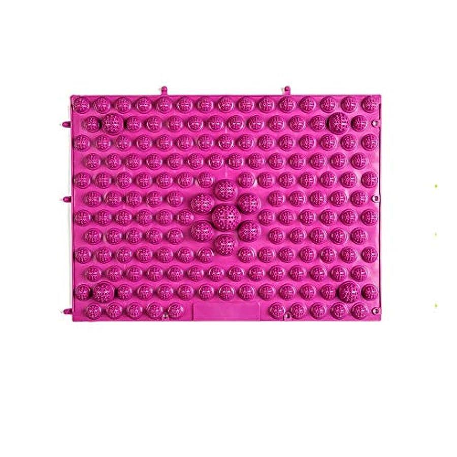 たっぷりくつろぎストライクウォークマット 裏板セット(ABS樹脂製補強板付き) (レッド)