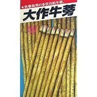 ごぼう 種 大作牛蒡 小袋(約10ml)