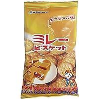 野村煎豆加工店 ミレービスケットキャラメル味 110g