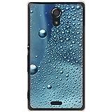 CaseMarket 【ポリカ型】 au Xperia UL SOL22 ポリカーボネート素材 ハードケース [ コールドモーニング ガラスの水滴 ]