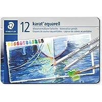 ステッドラー 色鉛筆 カラトアクェレル 水彩色鉛筆 12色 125 M12