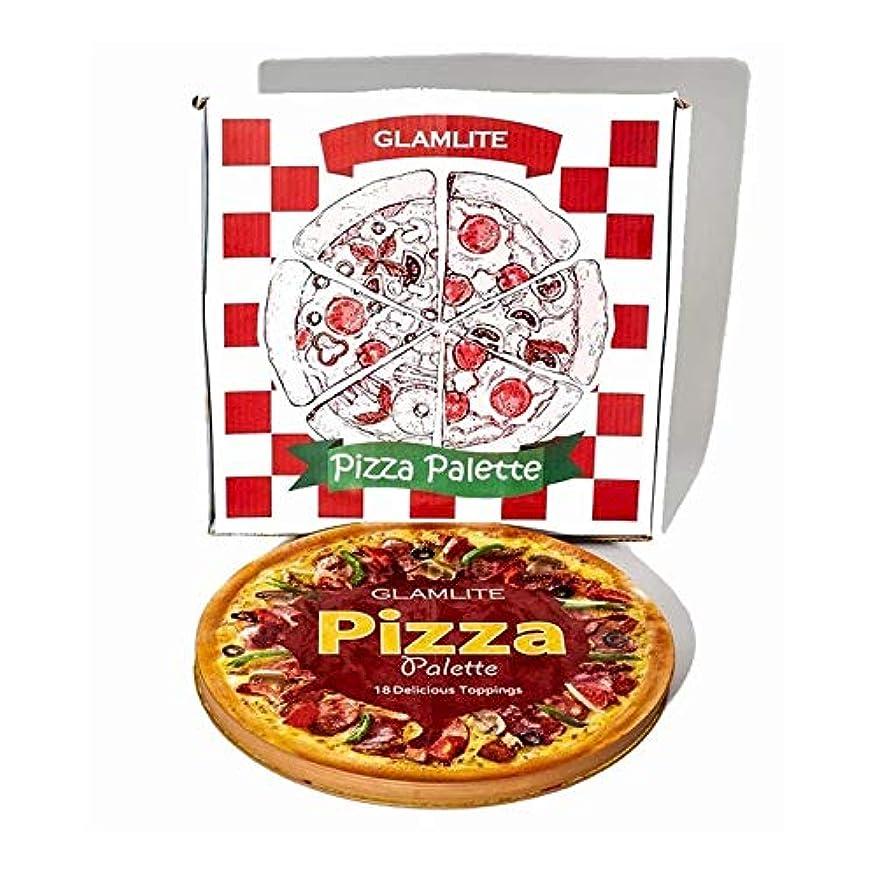 はさみ花瓶曖昧なグラムライト ピザパレット 18色