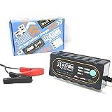 マキシマバッテリー 保証付 12V 全自動 マルチタイプバッテリー充電器 自動車/バイク用