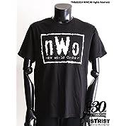AT×WWE nWoTシャツ (L, ブラック)