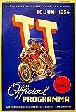 1956年オランダT T Motorcycle Race–プロモーション広告ポスター 8.5